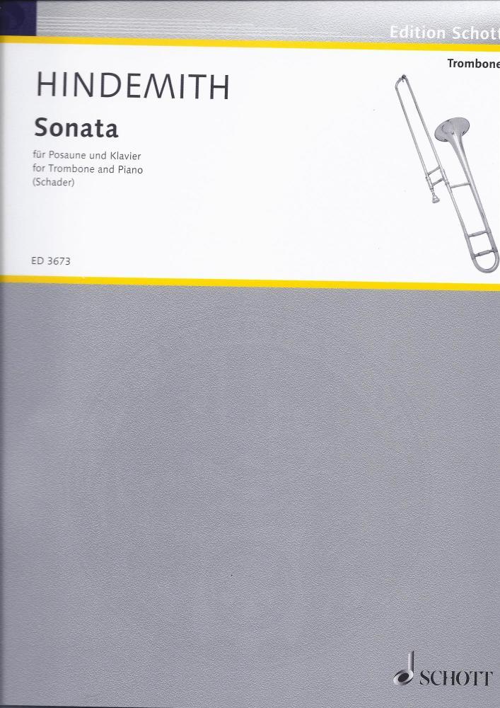 Paul Hindemith: Trombone Sonata