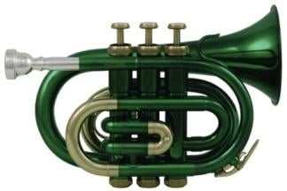 Roy Benson RB PT-101E Pocket Trumpet PT-101E Green