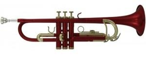 Roy Benson RB TR-101R Trumpet TR-101 in Red