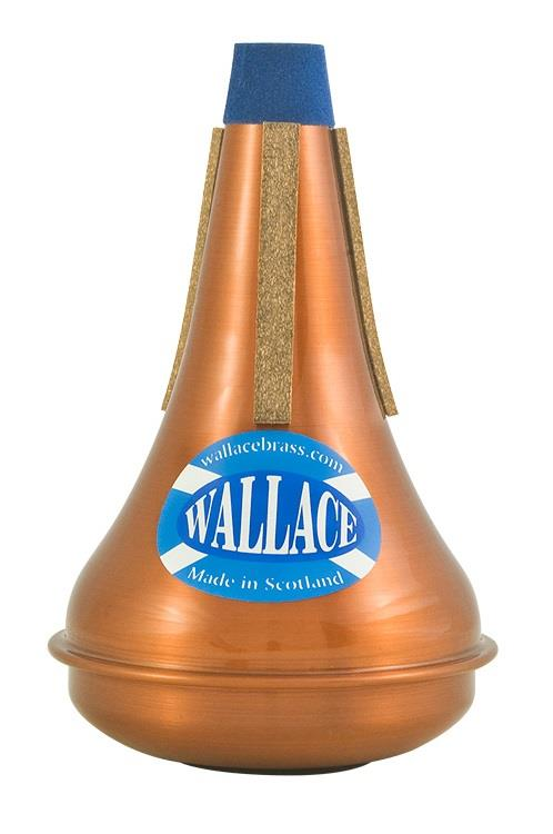 Wallace Trumpet Mute - Straight, Copper