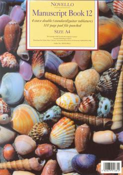 NOVELLO MANUSCRIPT BOOK 12 A4