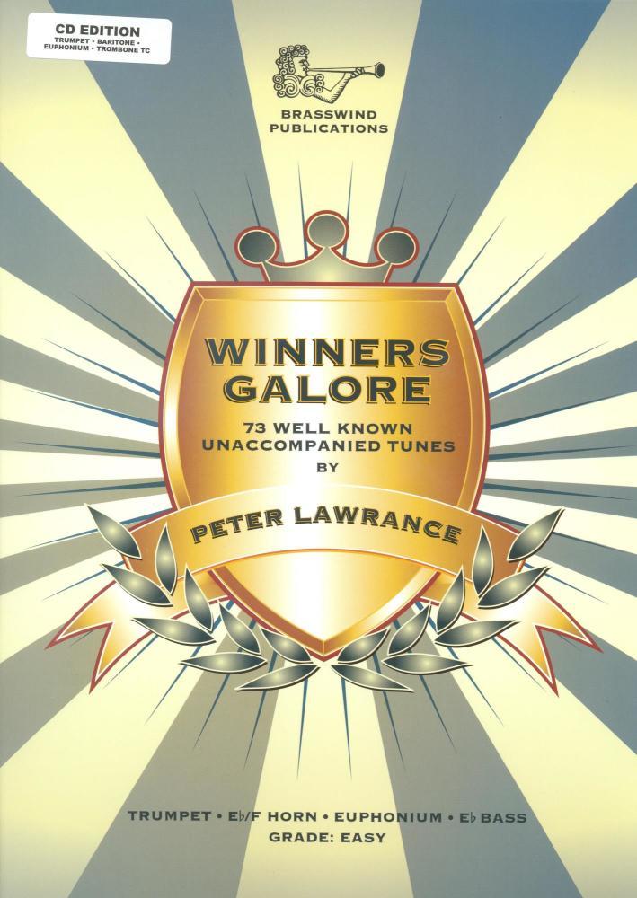 Winners Galore - Treble Brass (Book/CD)