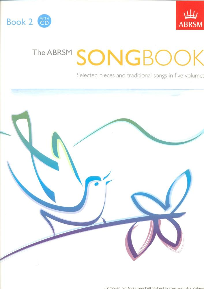 The ABRSM Song Book - Book 2 with CD