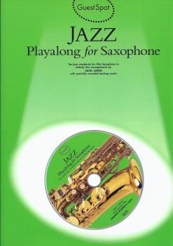 Guest Spot: Jazz Playalong for Alto Saxophone