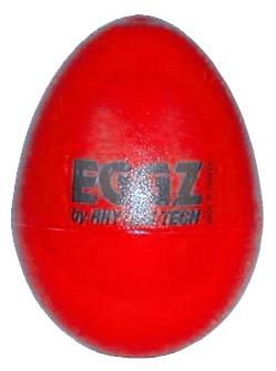 Rhythm Tech Eggz Shaker, Red