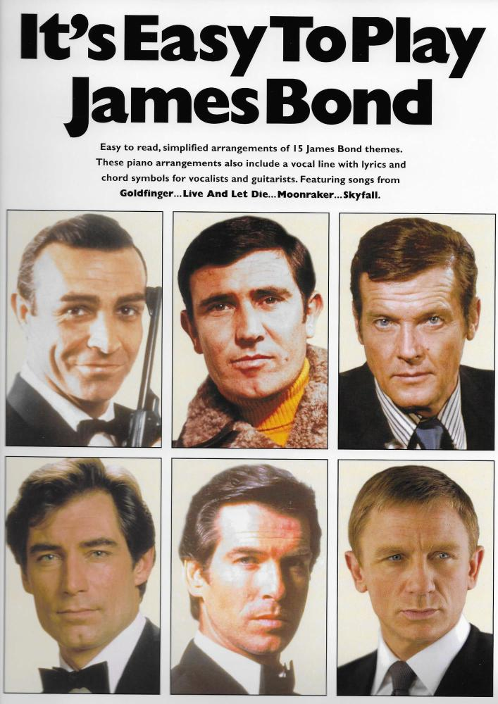 It's Easy To Play James Bond
