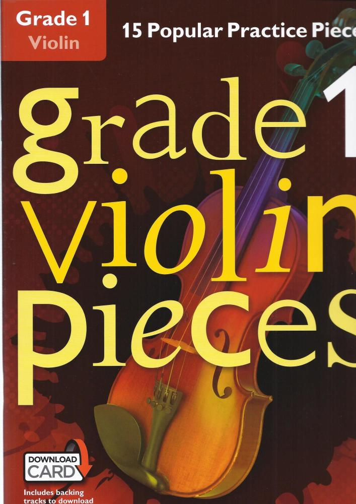 Grade 1 Violin Pieces (Book/Audio Download)
