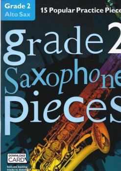 Grade 2 Alto Saxophone Pieces (Book/Audio Download)