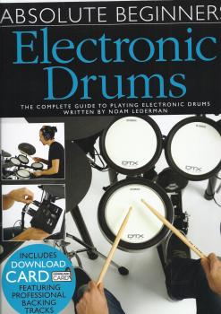 Absolute Beginners: Electronic Drums (Book/Audio Download)
