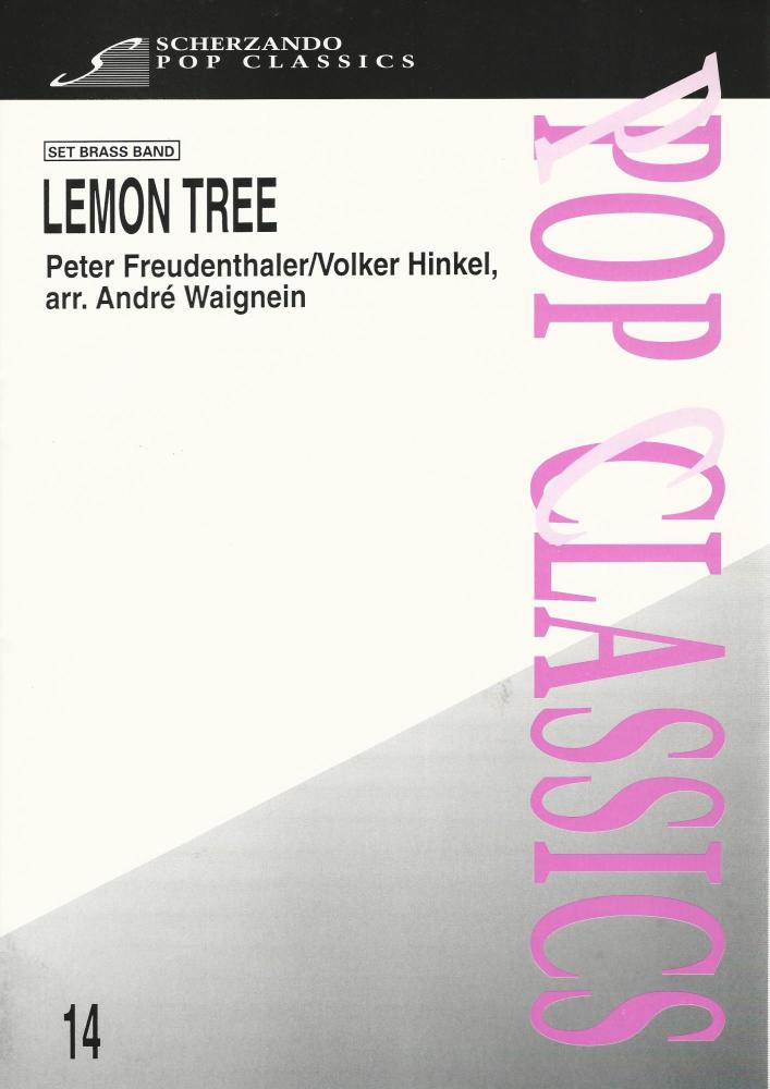 LEMON TREE (Fool's Garden) for Brass Band - Andre Waignein
