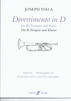 Divertimento in D for Bb Trumpet and Piano - Joseph Fiala