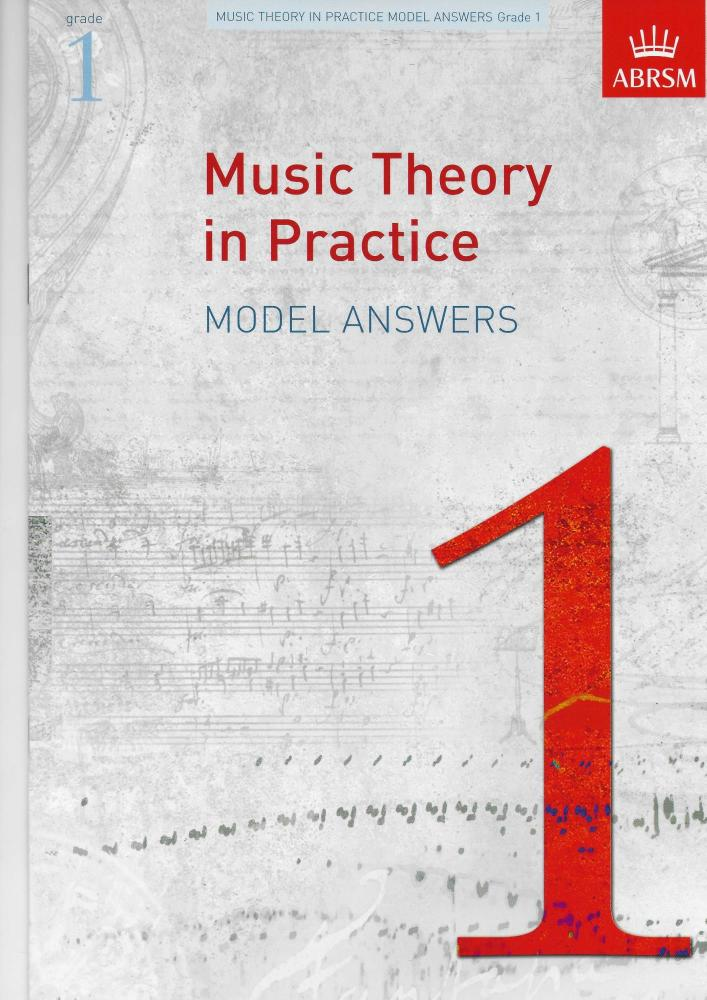 Music Theory in Practice ABRSM - Model Answers Grade 1
