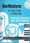 Nine Miniatures for F/Eb Horn or Eb Bass/Tuba