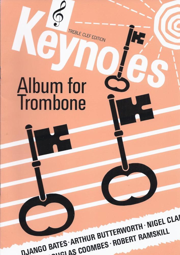 Keynotes Album for Trombone Treble Clef