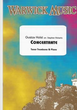 Concertante for Tenor Trombone and Piano - Gustav Holst
