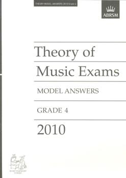 Theory of Music Exams Model Answers 2010 Grade 4