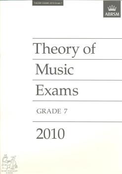 Theory of Music Exams 2010 Grade 7