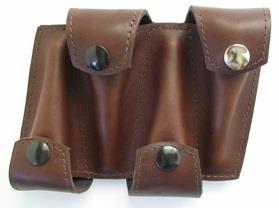 Torpedo Bags Quad Mouthpiece Holster (Brown)