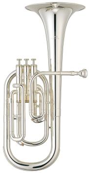 Yamaha YAH203S Student Tenor Horn in Silver Plate