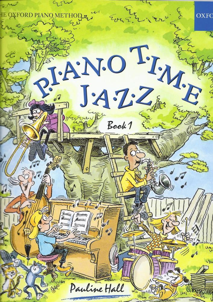 Pauline Hall: Piano Time Jazz Book 1