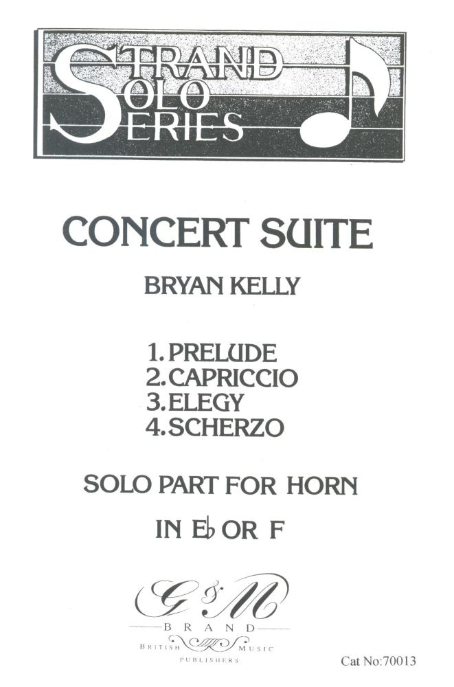 Concert Suite for Horn in Eb or F, Bryan Kelly