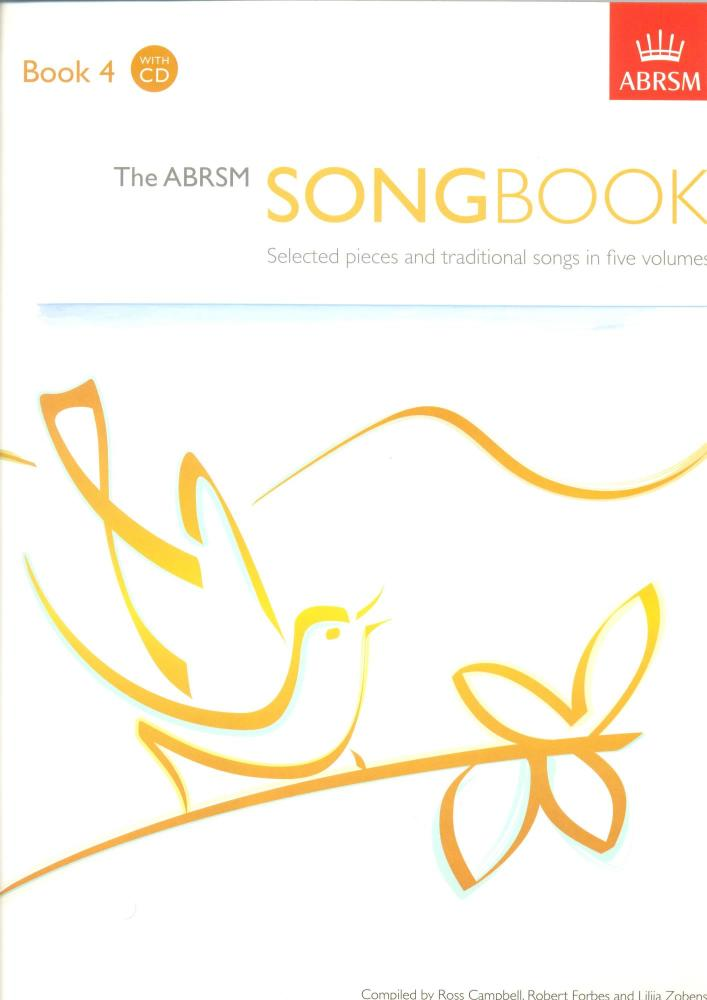The ABRSM Song Book - Book 4 with CD