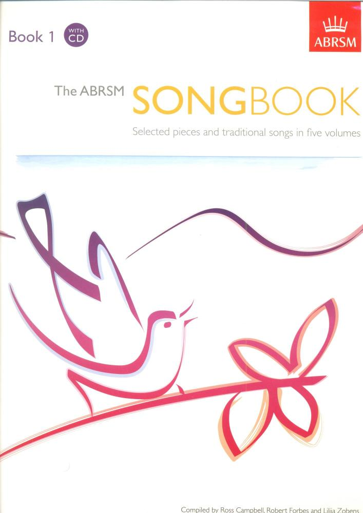 The ABRSM Song Book - Book 1 with CD