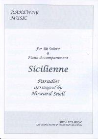 Sicilienne for Baritone/Euphonium - Howard Snell