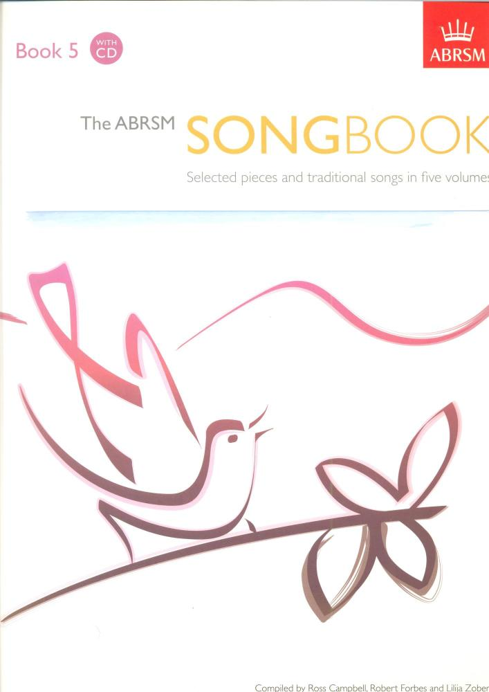 The ABRSM Song Book - Book 5 with CD