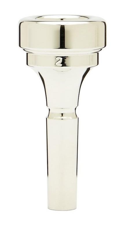 Denis Wick Brass band cornet silver plated mouthpiece 2