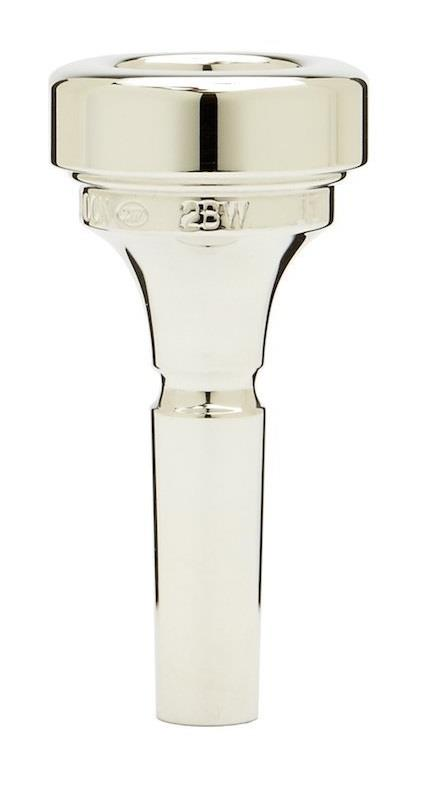 Denis Wick Brass band cornet silver plated mouthpiece 2BW