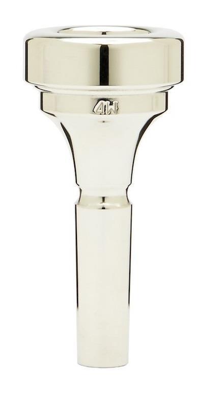 Denis Wick Brass band cornet silver plated mouthpiece 4W