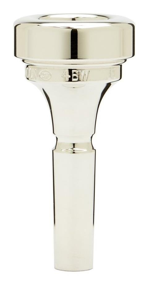 Denis Wick Brass band cornet silver plated mouthpiece 4BW