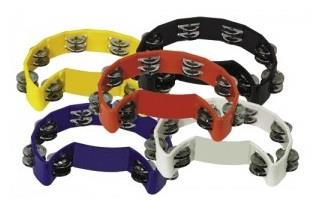 F845200 Coloured Tambourine
