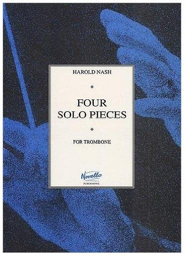 Four Solo Pices for Trombone - Harold Nash