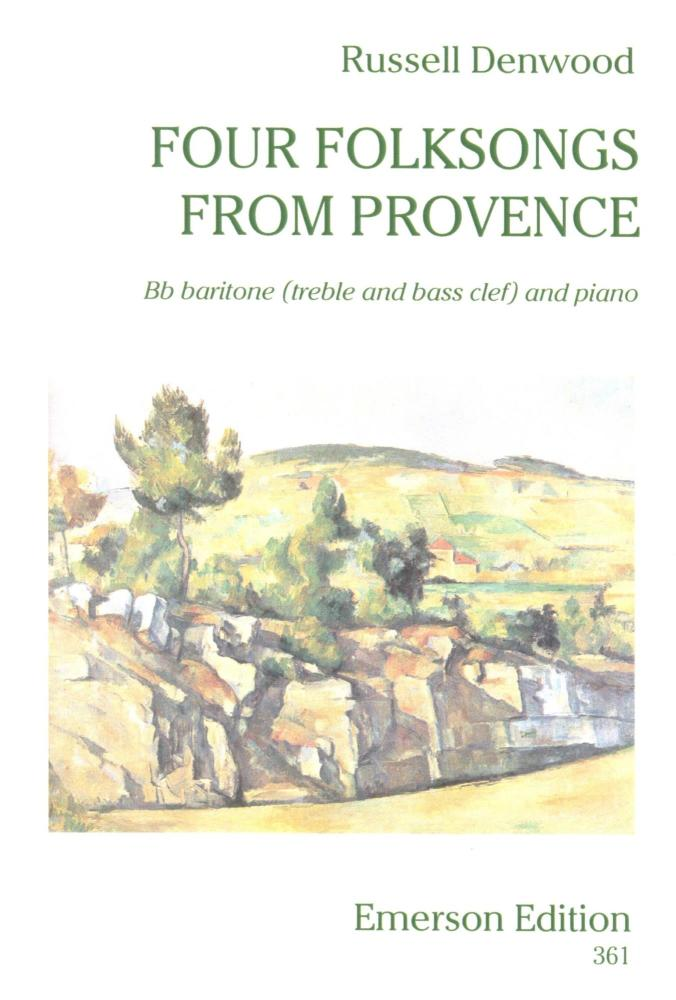 Four Folksongs from Provence for Baritone - Denwood