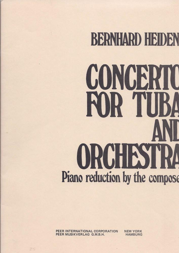 Concerto for Tuba - Berhard Heiden