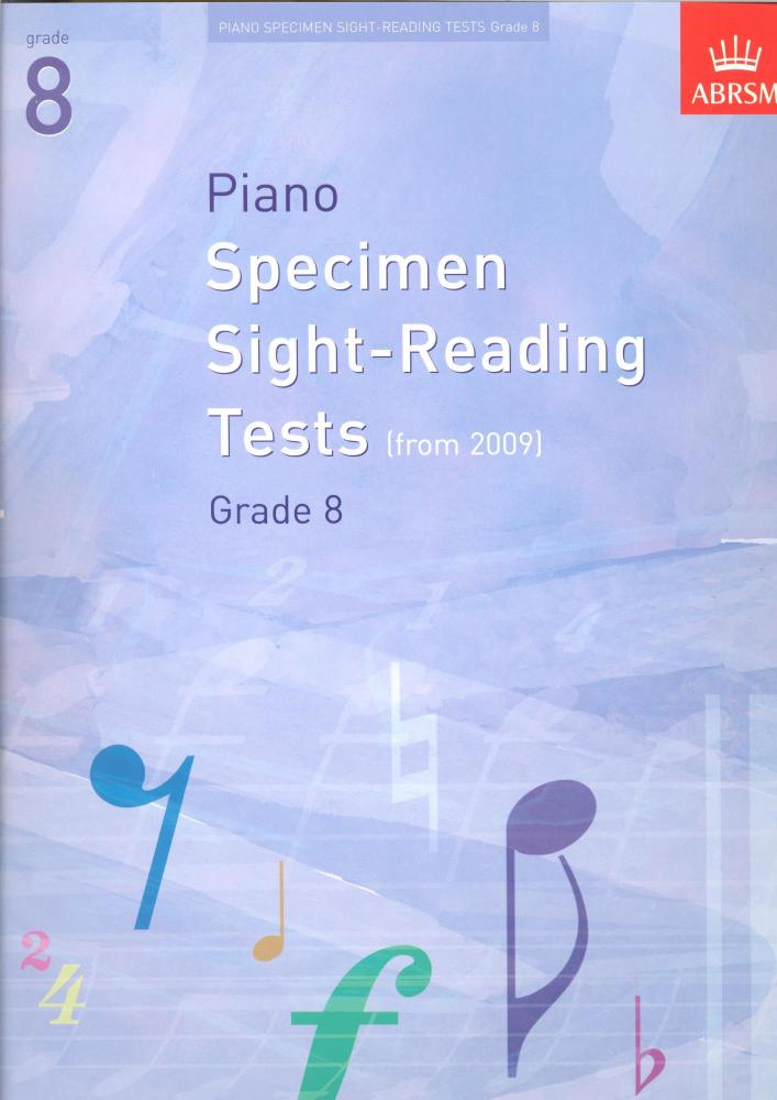 ABRSM Piano Specimen Sight Reading Tests - Grade 8