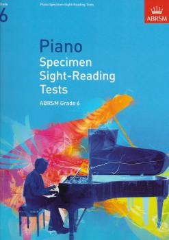 ABRSM Piano Specimen Sight Reading Tests: From 2009 (Grade 6)