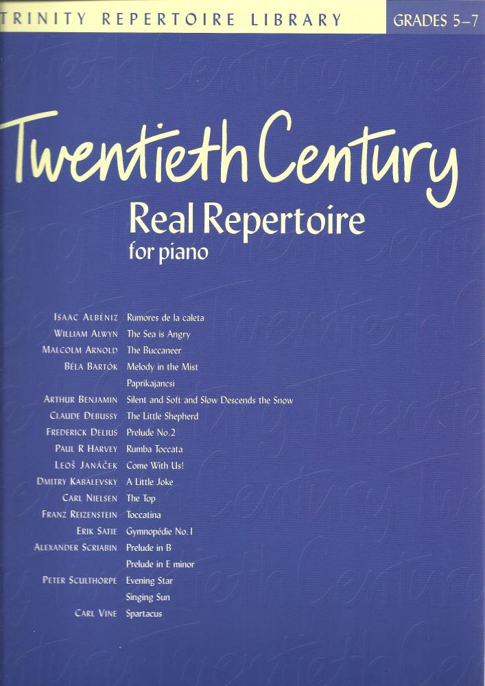 Twentieth Century Real Repertoire for Piano