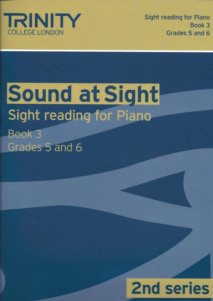 Trinity Guildhall: Sound At Sight 2nd Series - Piano Book 3 (Grades 5-6)