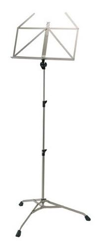 Konig & Meyer Heavy Duty Folding Music Stand - Powder Coated Nickel