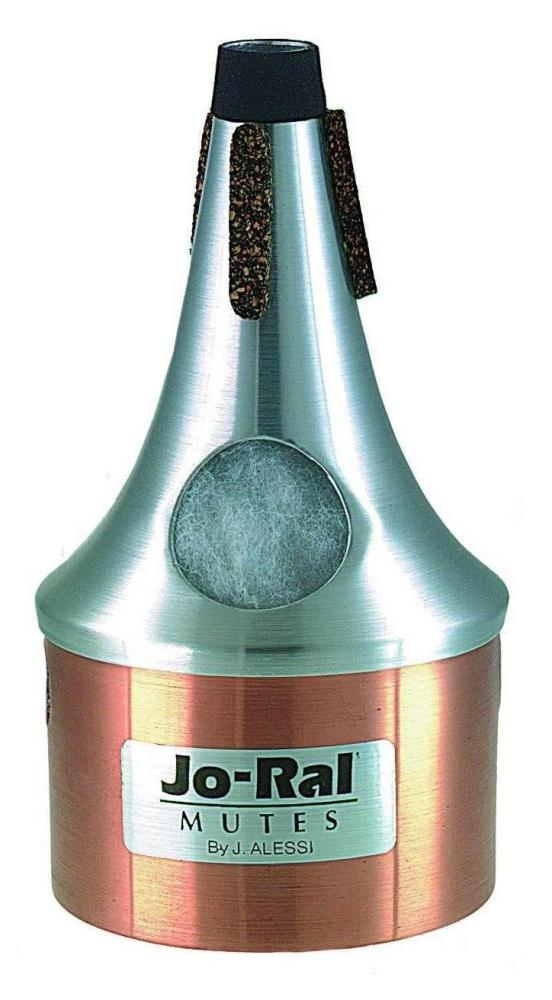 Jo-ral Trumpet Bucket Mute TPT4C Copper Bottom
