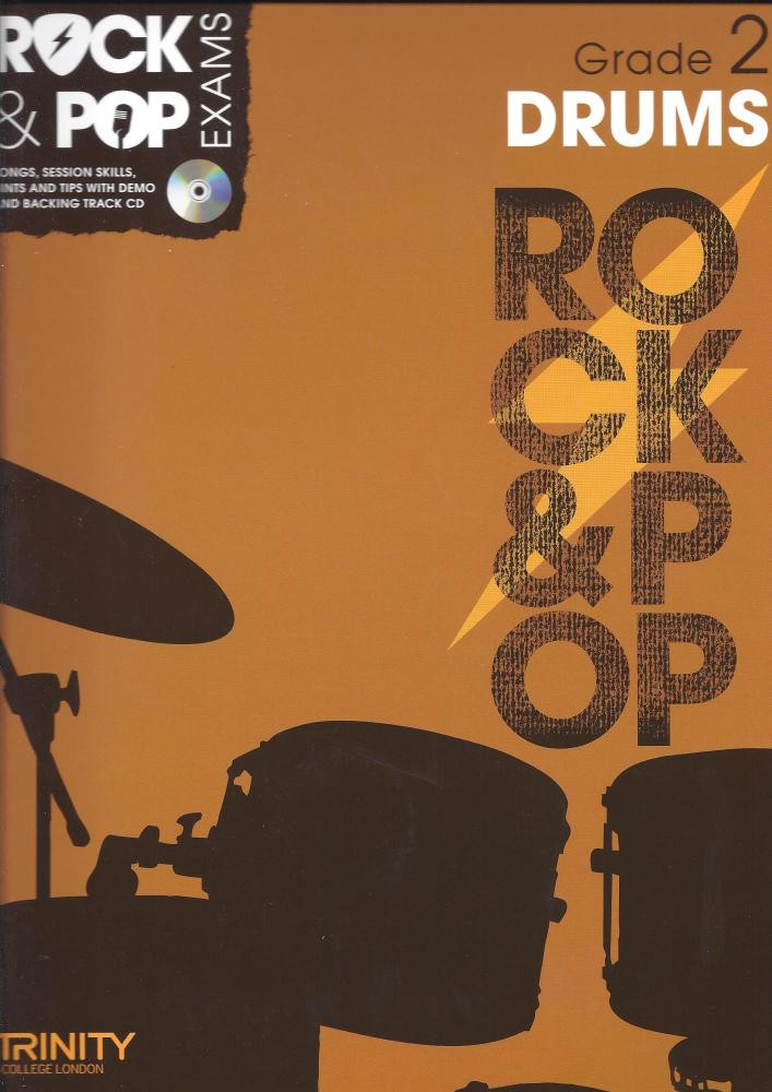 Trinity College London: Rock & Pop Drums - Grade 2