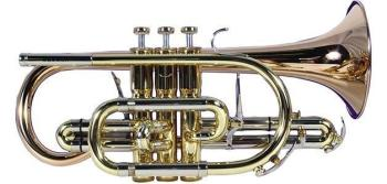Besson BE928G-1-0 Bb Sovereign Cornet in Lacquer