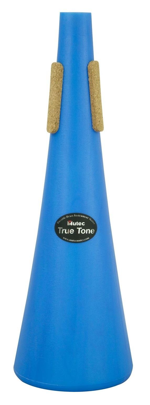 Mutec Trombone Straight Mute Blue Polymer