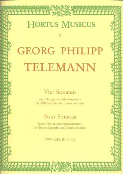 Georg Philipp Telemann: Four Sonatas (The Faithful Music Master)