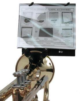 Deg Trumpet Bell Clamp Music Holder