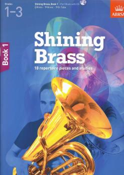 ABRSM Shining Brass Book 1 - Part Book/CD (Grades 1-3)
