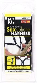 BG Saxophone Harness, Mens Snap-hook
